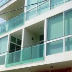 fachada aluminio y vidrio