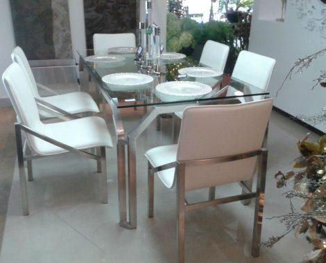 mesa diseño en acero