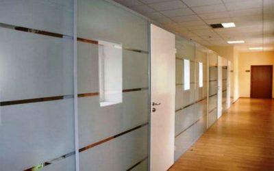 Division de Oficina en vidrio