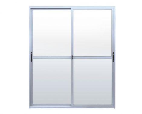 vidriera aluminio de 2 cuerpos